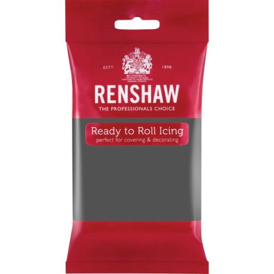 Renshaw Ready to Roll Icing Grey 250g