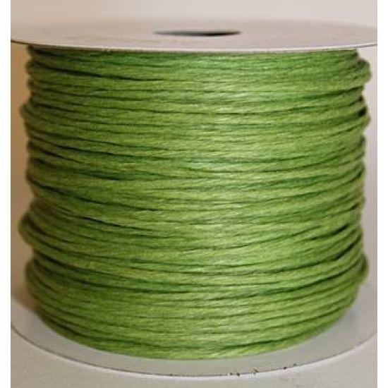 Dark Green Paper Wire - 50m