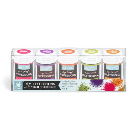 SK Professional Food Colour Dust Set 2