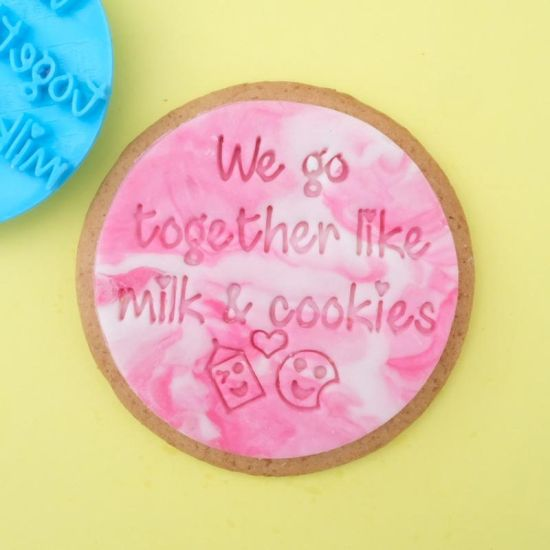 Sweet Stamp We Go Together Cupcake Embosser