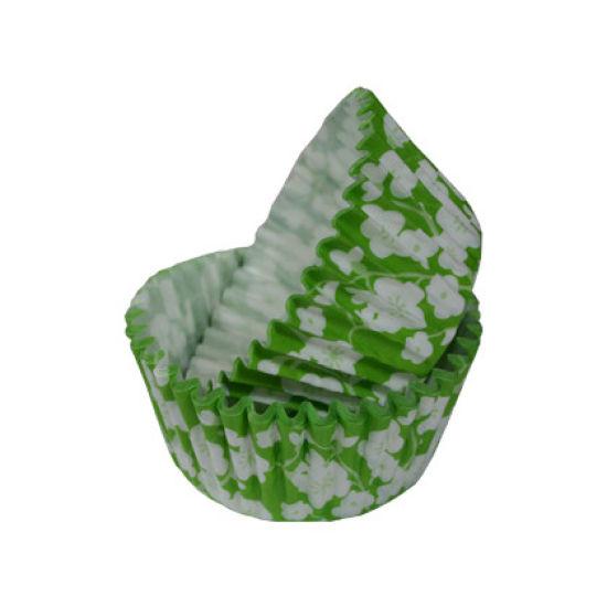 SK Cupcake Cases Blossom Fresh Green Pack of 36