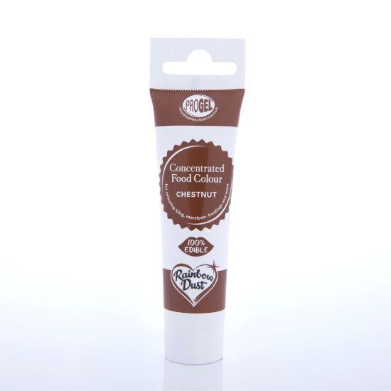 Rainbow Dust ProGel Professional Food Colour - Chestnut