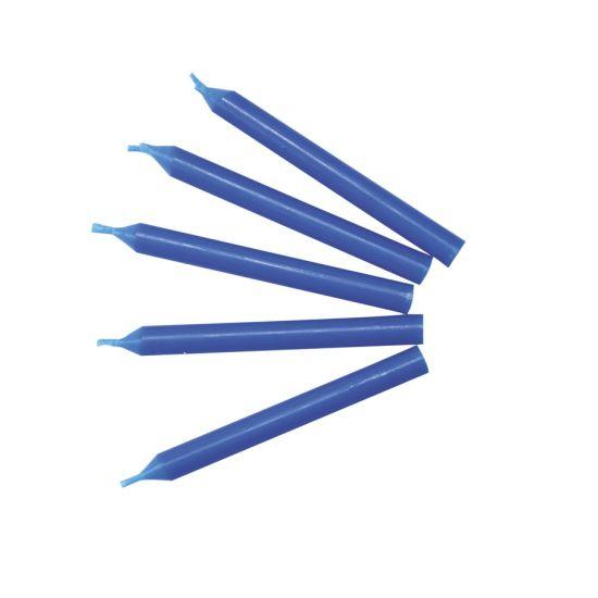 Single Plain Candles - Blue