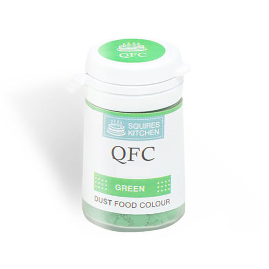 SK QFC Quality Food Colour Dust Green 4g