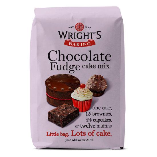 Wright's Baking Chocolate Fudge 500g