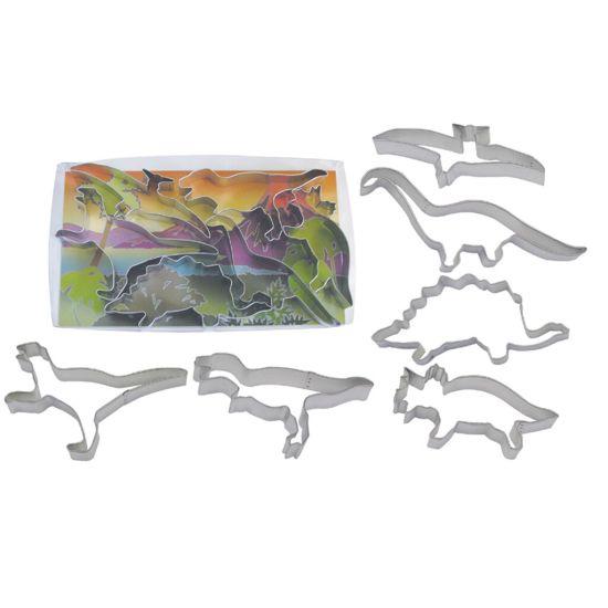Dinosaur Cookie Cutter Set of 6