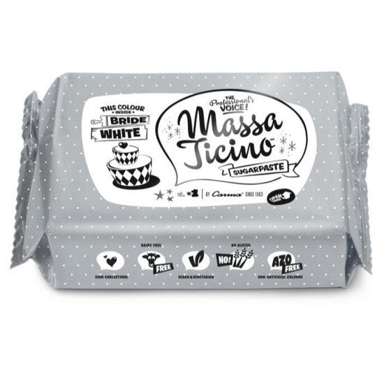 Massa Ticino Sugarpaste Bride White 1kg