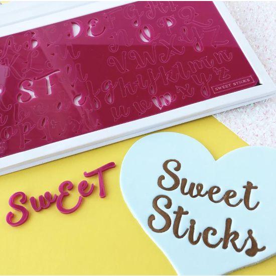 Sweet Stamp Sweet Sticks Embossing Set