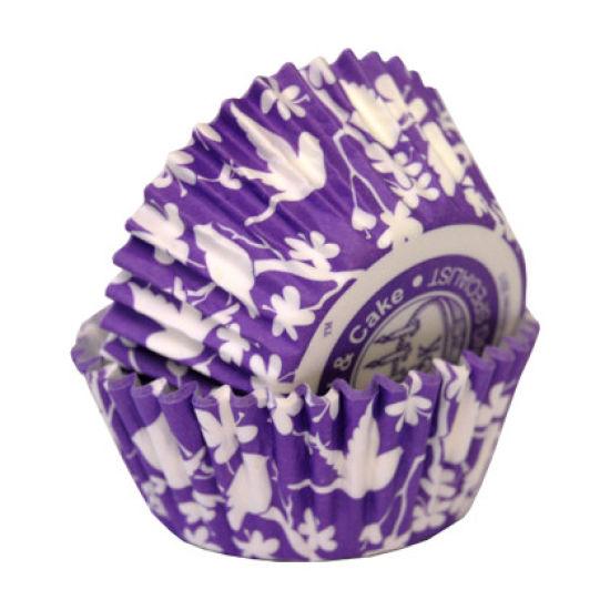 SK Cupcake Cases Bird Lavender Sugar Pack of 36
