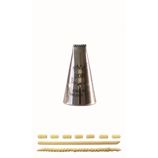 PME Basketweave Piping Nozzle No. 20B