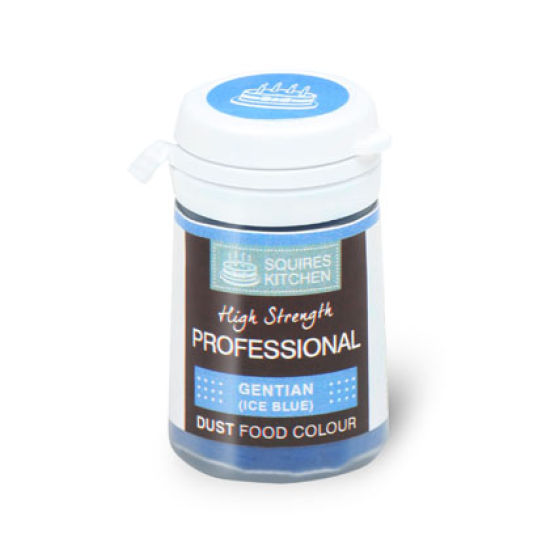 SK Professional Food Colour Dust Gentian (Ice Blue) 4g
