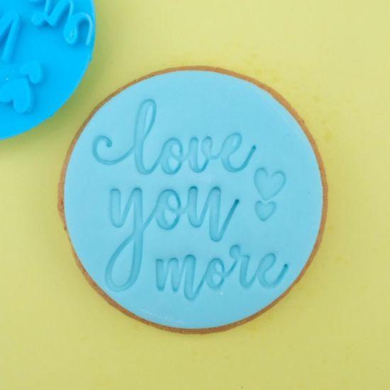 Sweet Stamp Love You More Cupcake Embosser