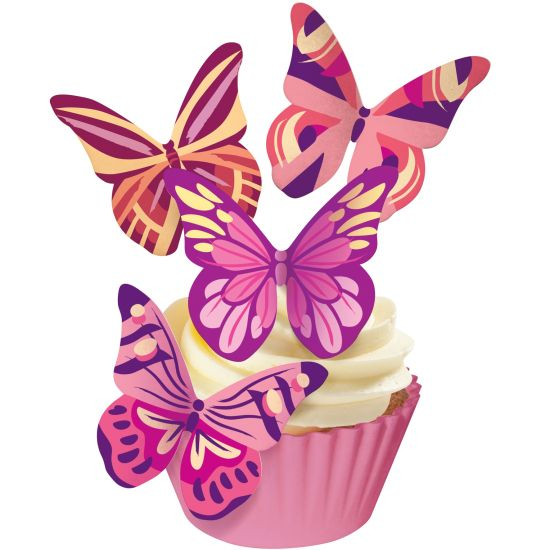 SK Designer Butterflies - Fantasy (Warm Hues)