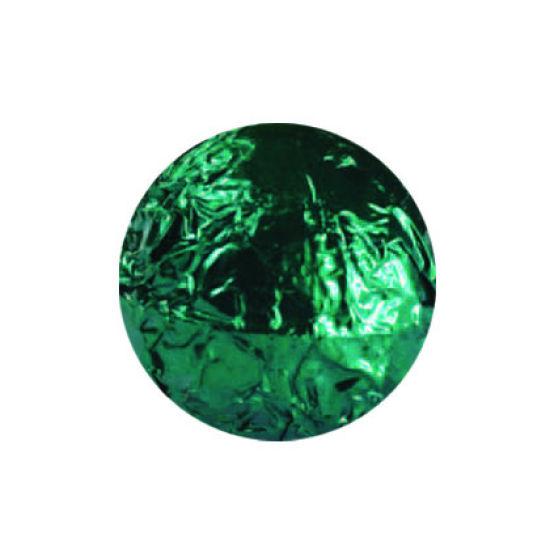 Emerald Green Foil Wraps 8x8cm