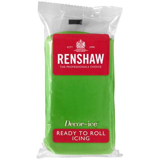 Renshaw Ready to Roll Icing Lincoln Green 500g
