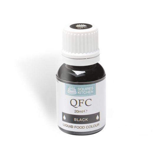 SK QFC Quality Food Colour Liquid Black 20ml
