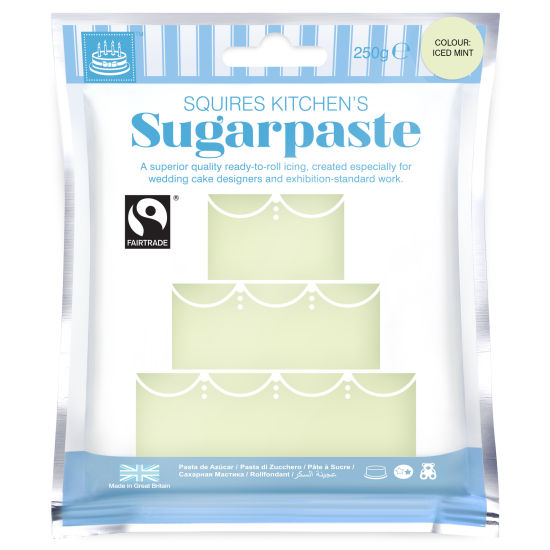SK Fairtrade Sugarpaste Iced Mint 250g