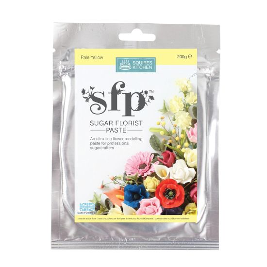 SK SFP Sugar Florist Paste Pale Yellow 200g