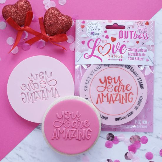 Sweet Stamp OUTboss Love Expressions You Are Amazing