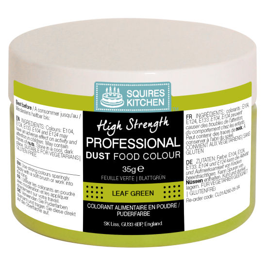 SK Professional Food Colour Dust Leaf Green 35g