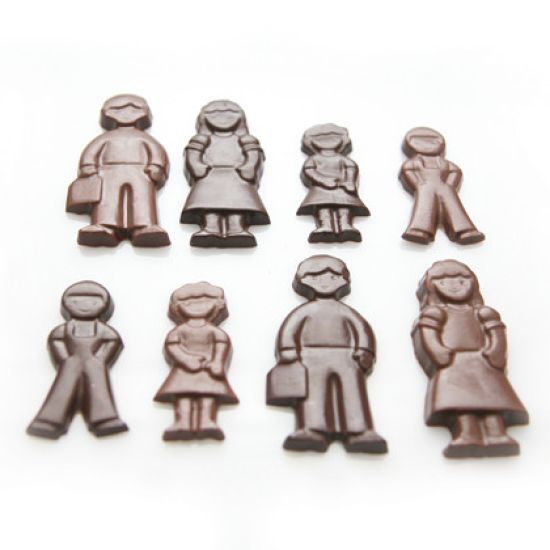 Home Chocolate Factory Chocolate Mould Family