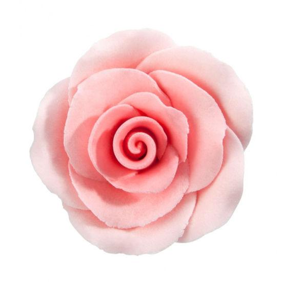 Large Individual Sugar Rose -Pink