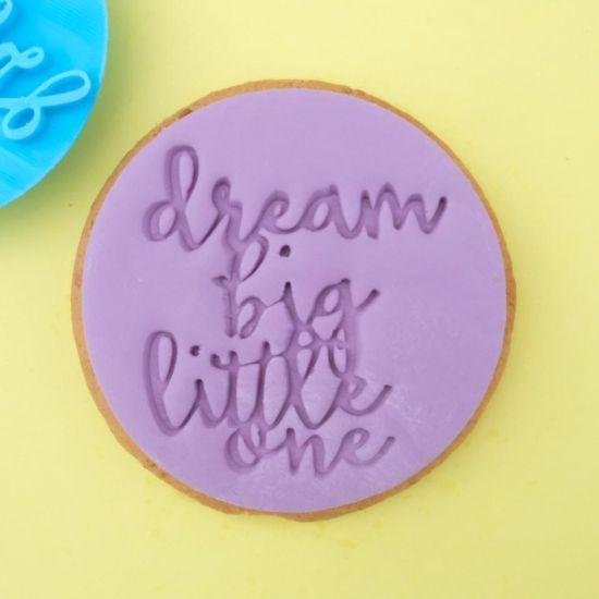 Sweet Stamp Dream Big Little One Cupcake Embosser