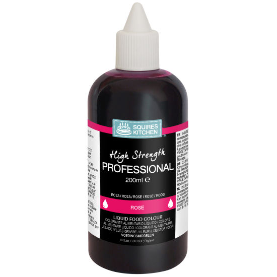 SK Professional Food Colour Liquid Rose
