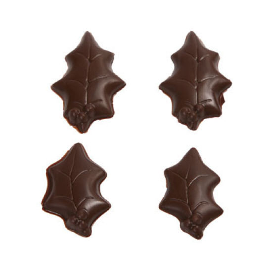 Holly Leaves Chocolate Mould