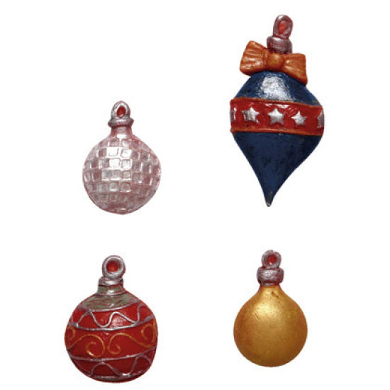 SK-GI Silicone Mould Christmas Baubles