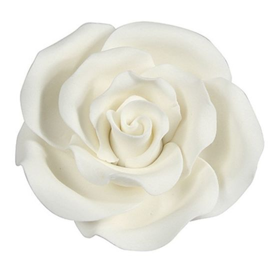 Sugar Soft Roses White 63mm