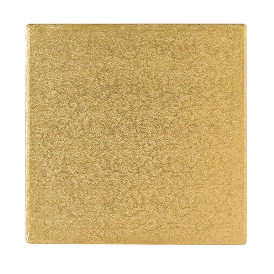 Gold Drum 1/2 Inch Thick Square 8 Inch