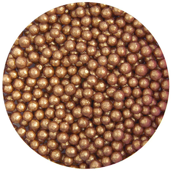 Scrumptious Sugar 4mm Pearls Bronze 80g