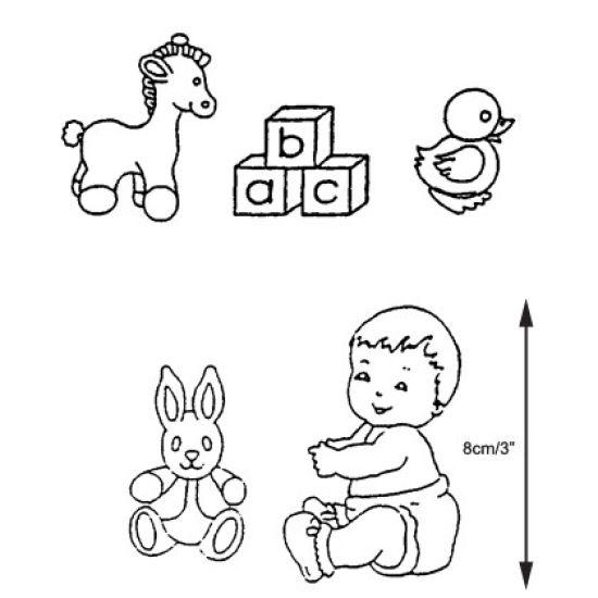 Patchwork Cutter & Embosser Nursery Set