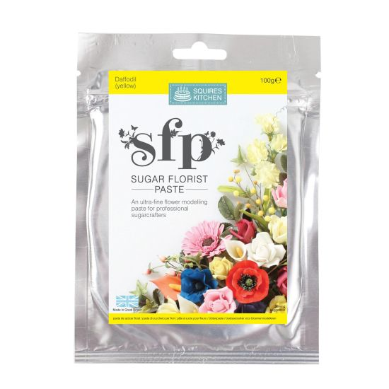 SK SFP Sugar Florist Paste Daffodil (Yellow) 100g