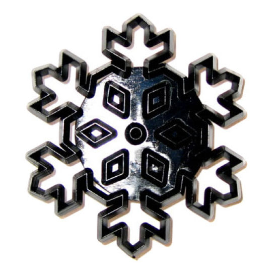 Patchwork Cutter & Embosser Large Snowflake