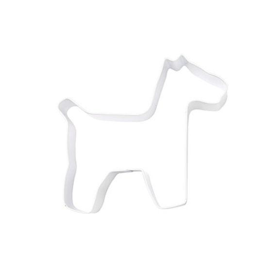 Eddingtons Ltd Cookie Cutter Dog White