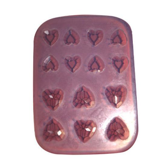 SK-GI Silicone Mould Heart Jewel