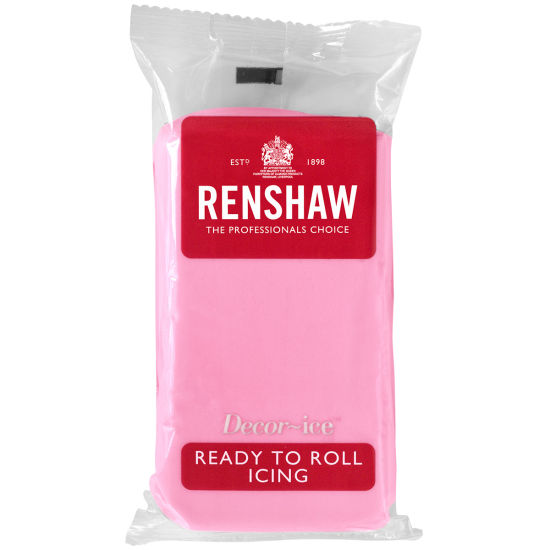 Renshaw Ready to Roll Icing Pink 500g
