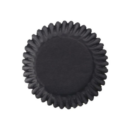 Black Cupcake Cases - Pack of 54