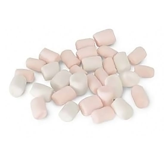 Mini Pink and White Marshmallows 1kg