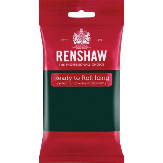 Renshaw Ready to Roll Icing Bottle Green 250g