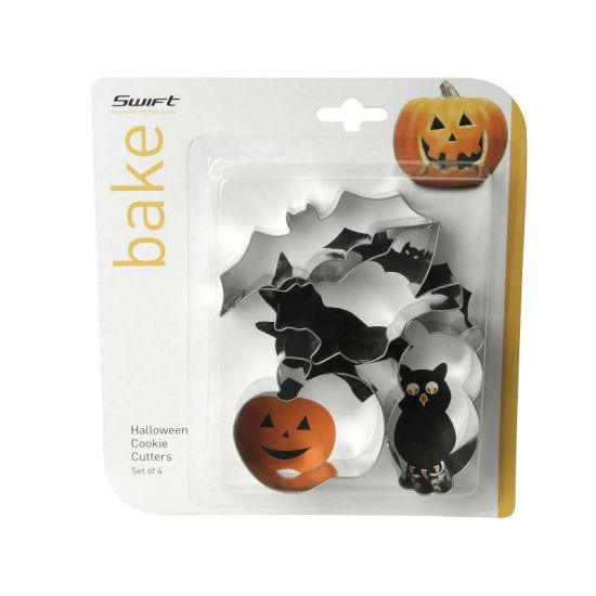 Halloween Cookie Cutters - Set of 4