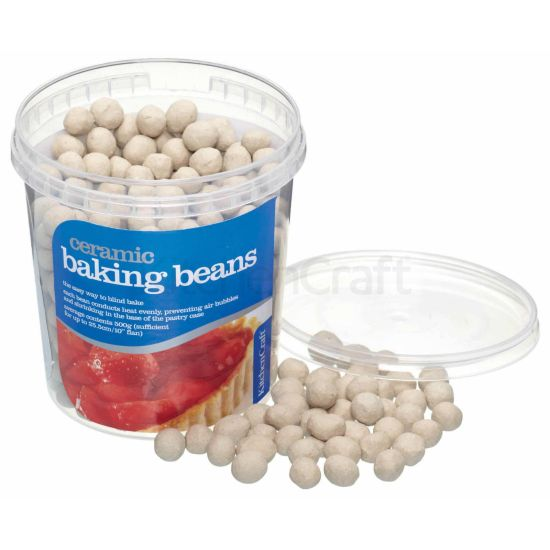 Kitchen Craft Tub Of Ceramic Baking Beans 600g