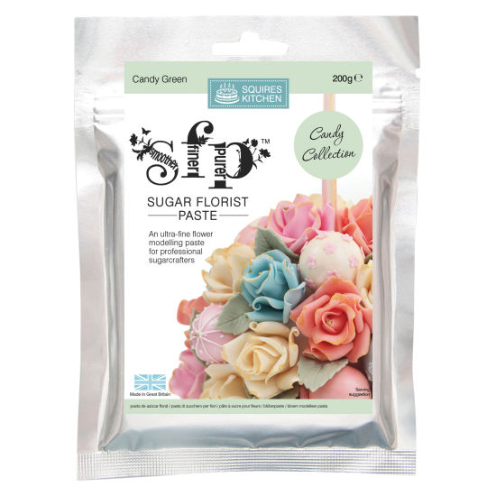 SK SFP Sugar Florist Paste Candy Green 200g
