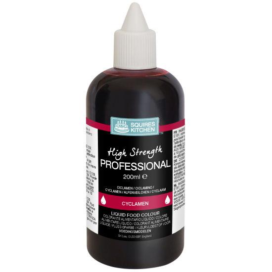SK Professional Food Colour Liquid Cyclamen (Ruby)