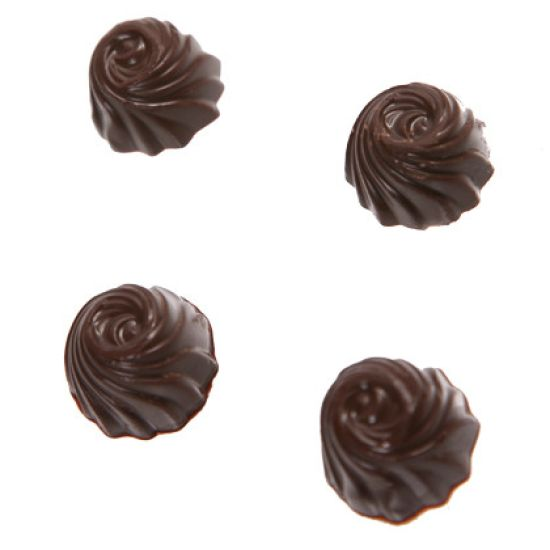 Chocolate Mould Swirl Bon Bon