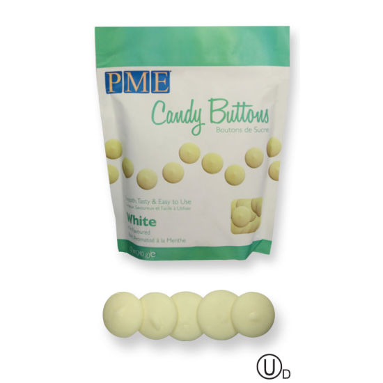 PME Candy Buttons - White 340g (12oz)