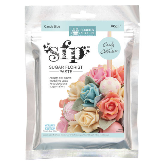 SK SFP Sugar Florist Paste Candy Blue 200g