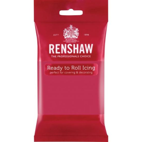Renshaw Ready to Roll Icing Fuschia 250g